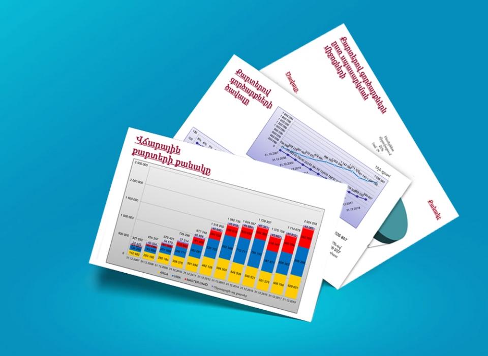 Անդրադարձ բանկերի կողմից թողարկված քարտերով իրականացված գործառնություններին