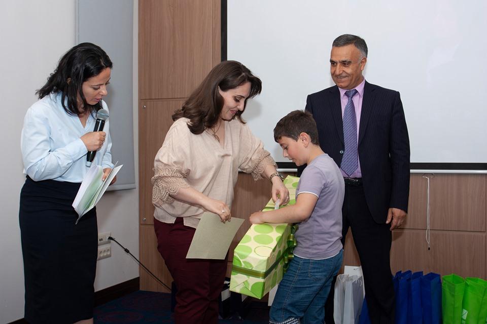 Պարգևատրում  Հայաստանի բանկերի միության կողմից