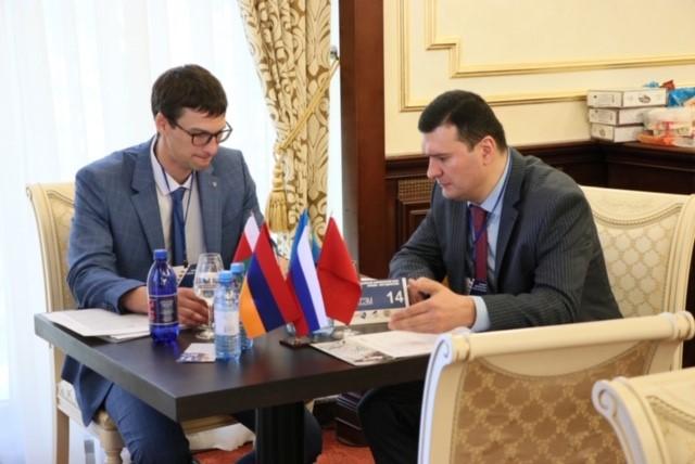 «Ռոսսելխոզբանկ» ԲԸ-ի  ներկայացուցչության ղեկավարի այցը Հայաստանի բանկերի միություն