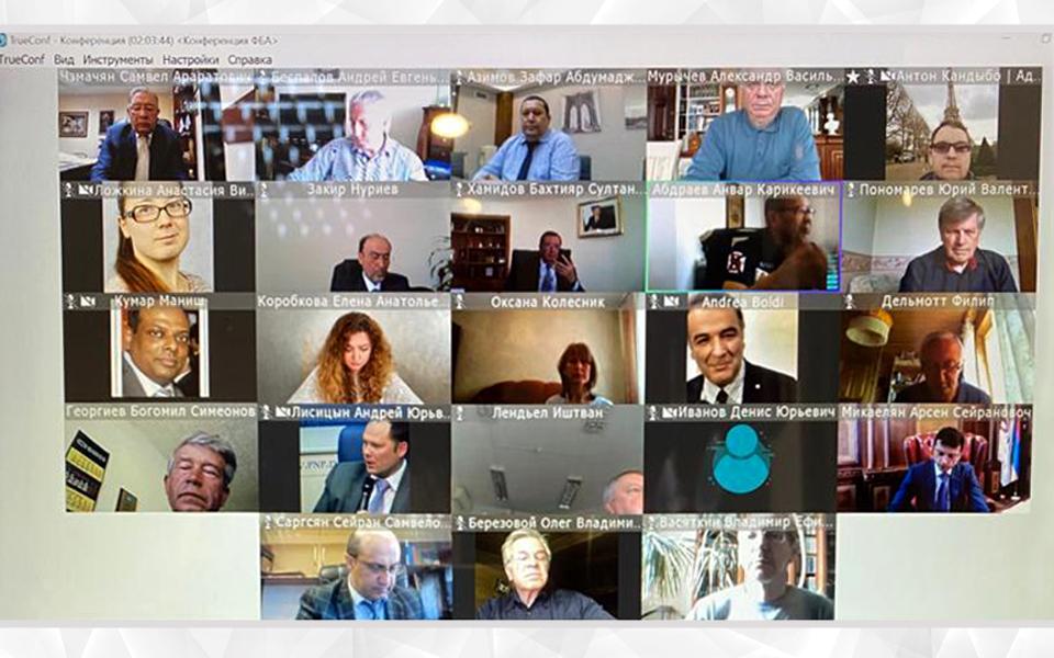 ՀԲՄ-ն մասնակցել է «Բանկային համակարգի աշխատանքի կազմակերպումը COVID-19-ի պայմաններում» տեսակոնֆերանսին