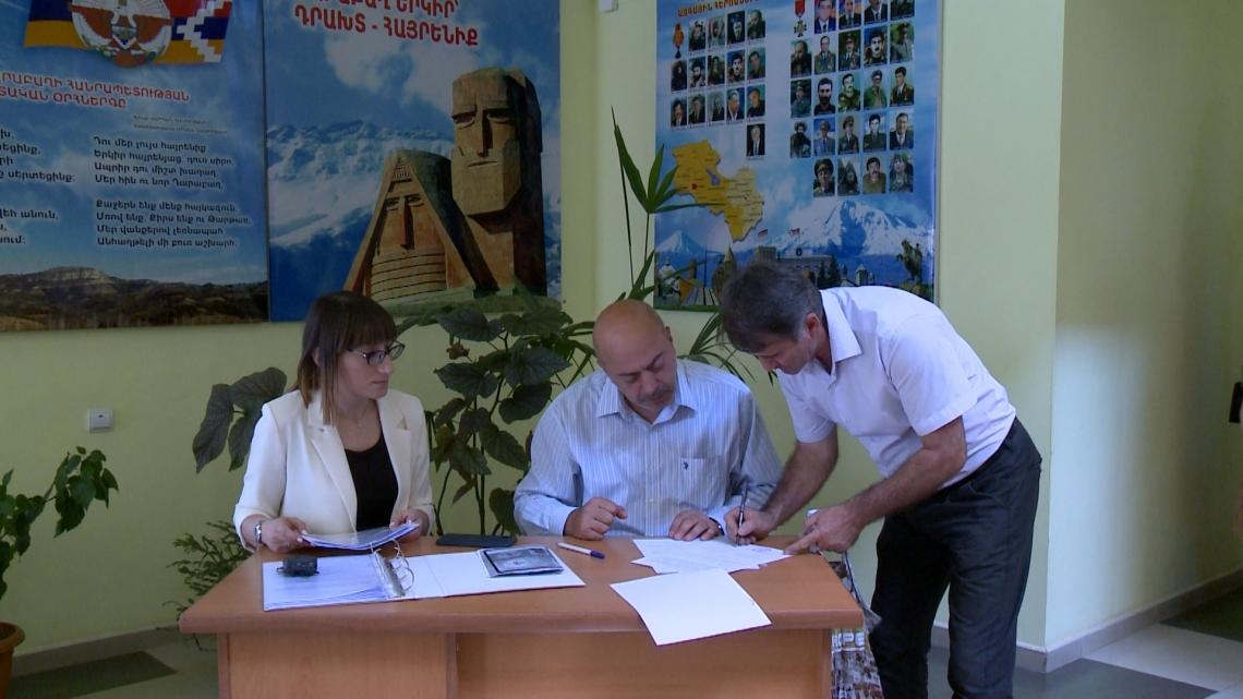 ՀՀ առևտրային բանկերի աջակցությունը Արցախի դպրոցներին