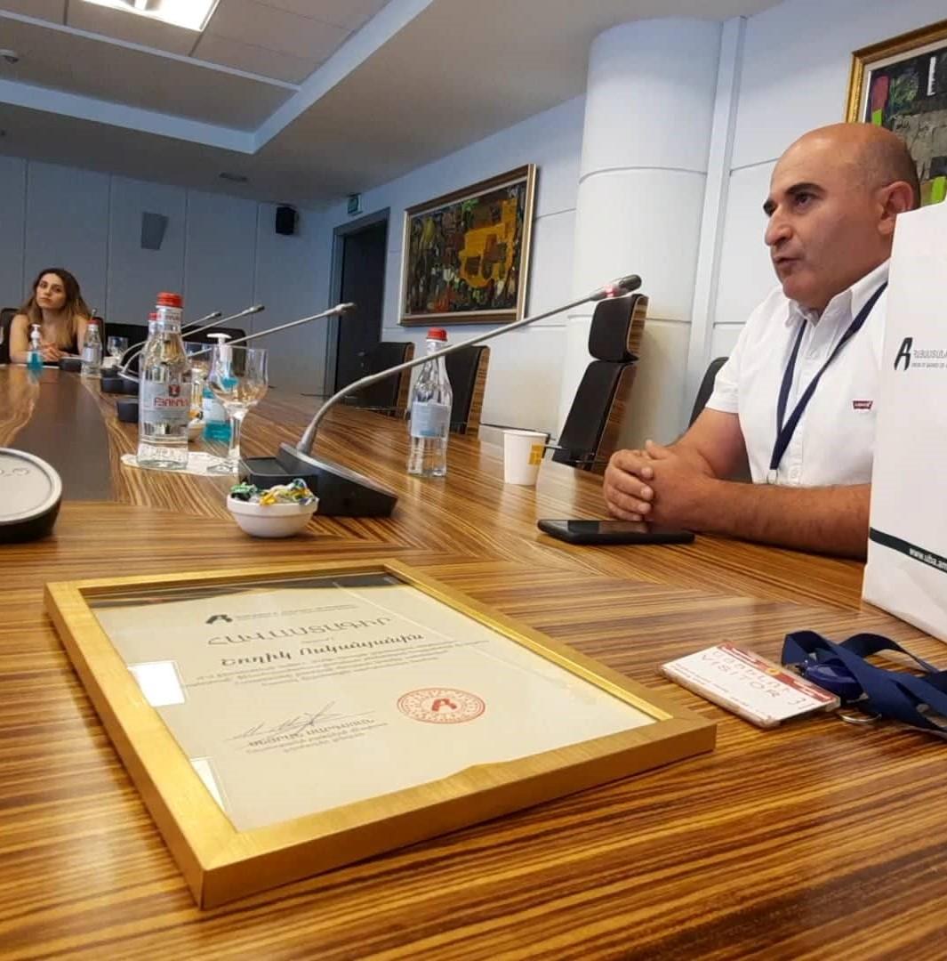 Հայաստանի բանկերի միության հատուկ մրցանակը հանձնվեց Վիքիպեդիայի՝ ֆինանսատնտեսագիտական թեմաներով հոդվածների մրցույթի մասնակցին