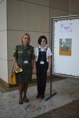 Հայաստանի բանկերի միության հատուկ մրցանակը հանձնվեց տասնամյա նկարչուհուն